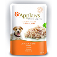 APPLAWS MULTIPACK Supreme Selection Paté 100% Naturale in gelatina per Cane Adulto - 5 bustine freschezza 100g
