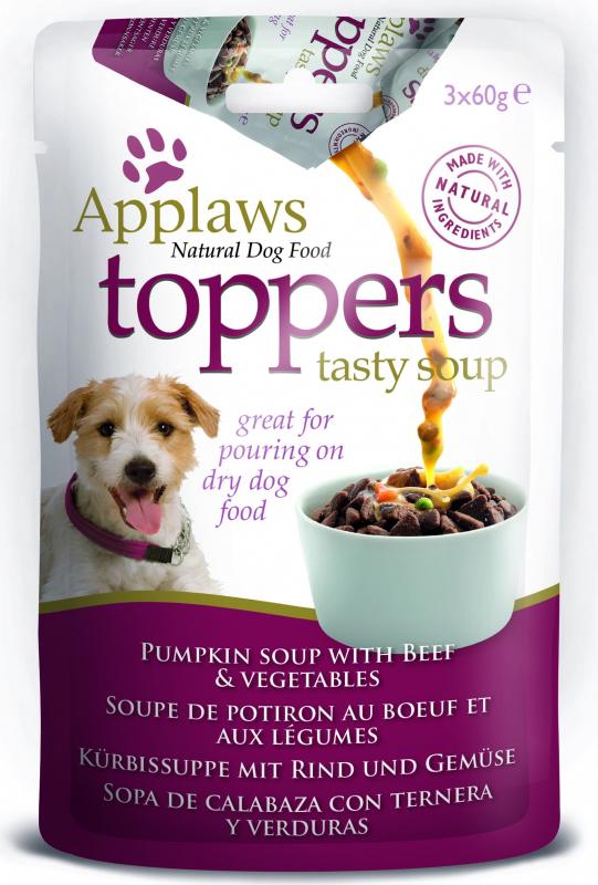 APPLAWS Tasty Soup pour Chien Adulte - 2 Saveurs au choix