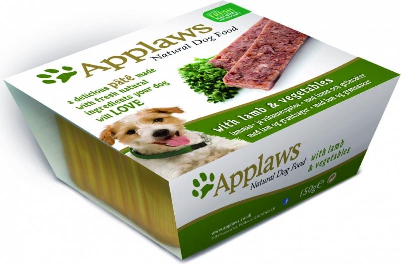 APPLAWS Patée Naturelle 150g pour Chien Adulte - 5 saveurs