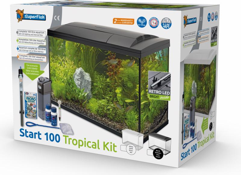 Superfish START Kit 100 Tropical Kit Noir ou Blanc