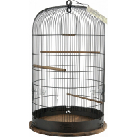 Cage oiseau Rétro Marthe - H74cm
