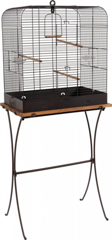 Cage oiseau Rétro Célestine - H48cm