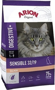 ARION ORIGINAL Cat Sensible 32/19 au Saumon pour chat Sensible