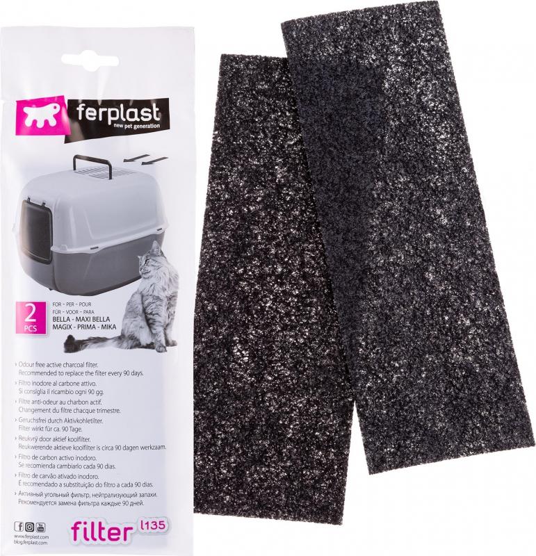 Filtre à charbon actif pour maison de toilette Prima