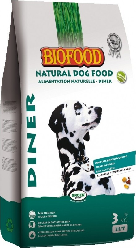 BIOFOOD Diner 21/7 pour Chien Adulte