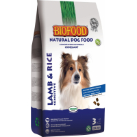BIOFOOD Lamb & Rice Adult 25/15 pour Chien Adulte Medium / Maxi Sensible
