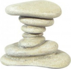 zen pebbles natural ornaments. Black Bedroom Furniture Sets. Home Design Ideas