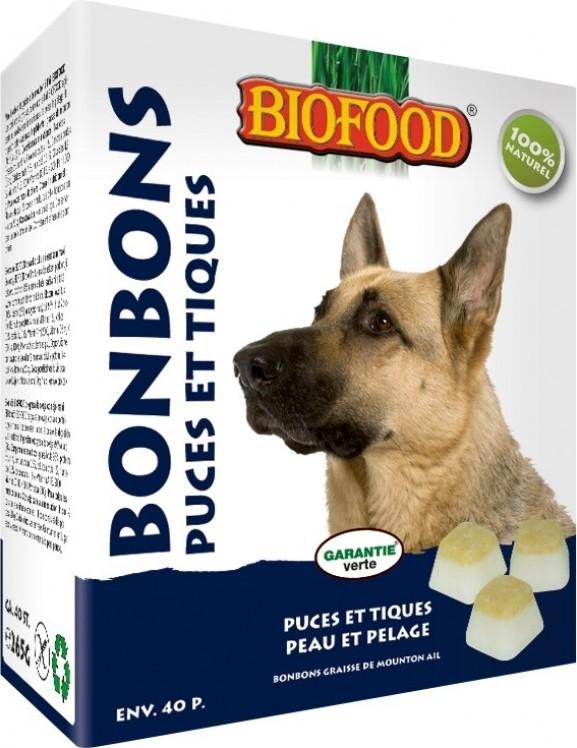 biofood snacks gegen fl he und zecken f r hunde. Black Bedroom Furniture Sets. Home Design Ideas