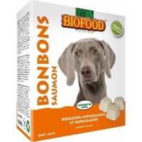 BIOFOOD Bonbons Flore Intestinale et Digestion - 2 Saveurs au Choix