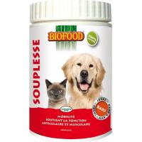 BIOFOOD Suplemento alimentar FLEXIBILIDADE para cães e gatos