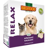 BIOFOOD Comprimés 100% Naturels Relaxants pour Chien et Chat