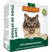 BIOFOOD Chat Comprimés Anti Boules de Poils - 100 comprimés