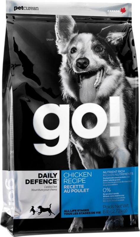 PETCUREAN GO! Dog Daily Defence au Poulet & Riz pour Chien Adulte et Chiot