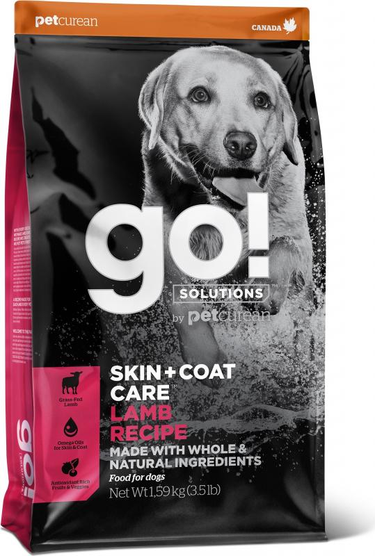 PETCUREAN GO! Dog Daily Defence au Agneau & Riz pour Chien Adulte et Chiot