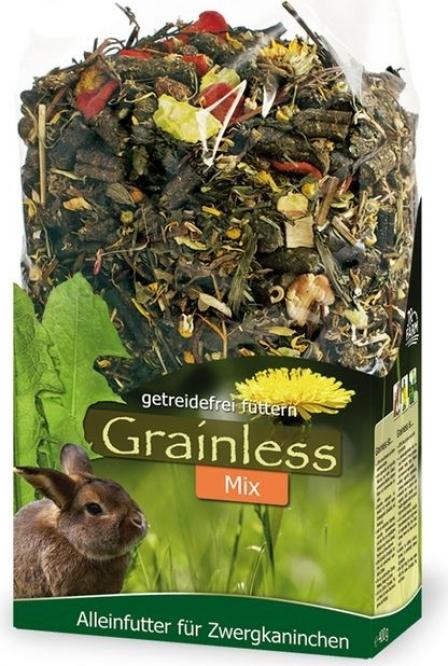 JR Grainless Futter für Zwergkaninchen