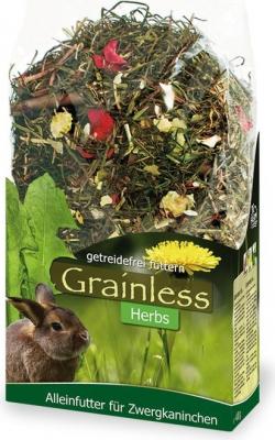 JR Farm Grainless herbes lapin nain