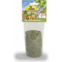 JR FARM Tunnel Gourmand Hooi-Mix met fruit voor knaagdieren, 125 g