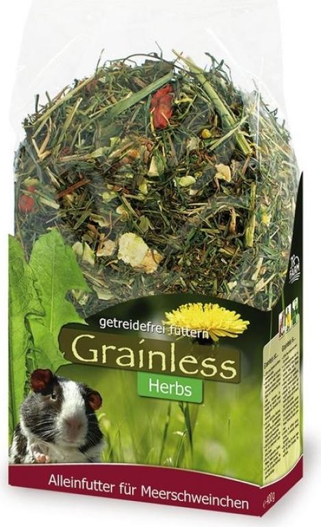 JR FARM Grainless alimentation herbes pour cobaye