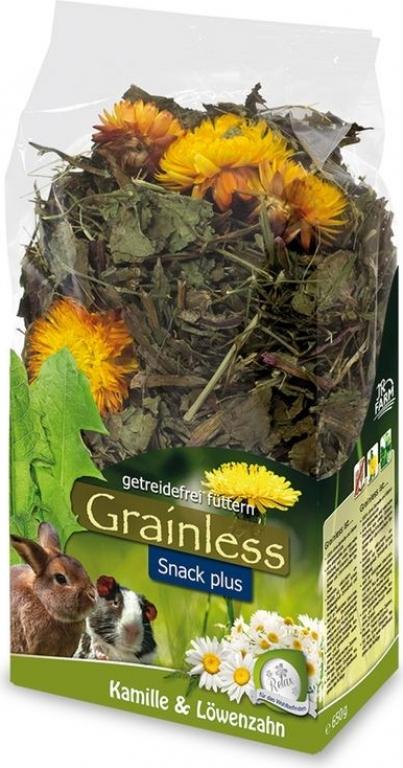 JR FARM Grainless Camomille-pissenlits pour rongeurs