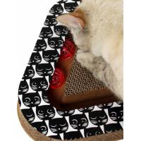 Griffoir pour chat interactif Zolia Cat's fever avec balles à attraper