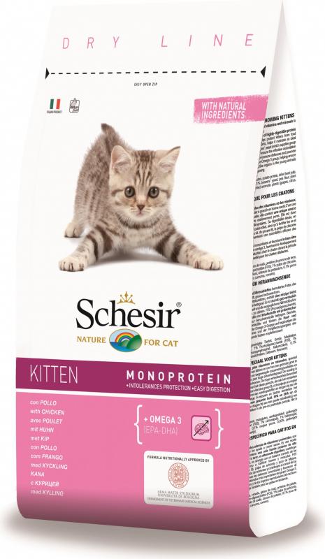 SCHESIR Kitten au Poulet pour Chaton