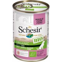 SCHESIR Paté Bio Sin Cereales 400gr para perro adulto - 3 sabores a elegir