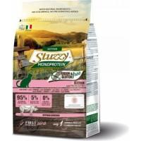 STUZZY Monoprotein Sans Céréales au Jambon pour Chaton