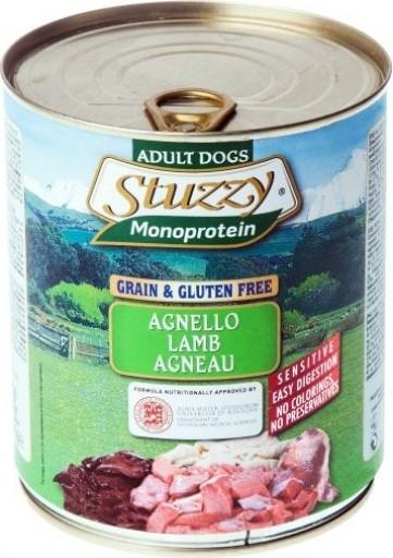 Pâtée Sans Céréales STUZZY Monoprotein 800g pour Chien Adulte - 5 Saveurs au Choix