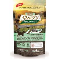 Pâtée Sans Céréales STUZZY Monoprotein 150 g au Veau frais pour Chiot