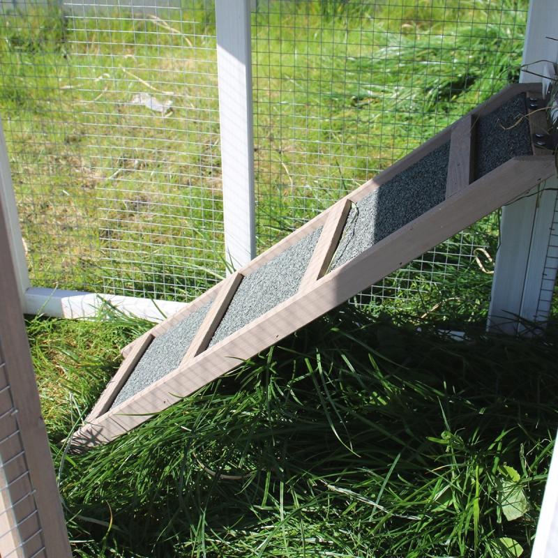 Clapier avec enclos Zolia Texas pour rongeurs et lapins