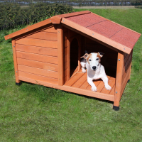 Niche pour chien avec terrasse Zolia Maya - Deux tailles disponibles