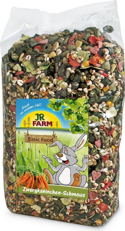 JR FARM Alimentation mélangée pour lapins