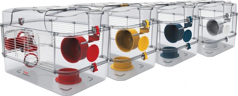 Kooi voor kleine knaagdieren, Rody3 Solo - verschillende kleuren
