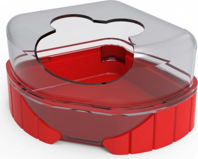 Maison de toilette pour cages Rody3 et Rodylounge - plusieurs coloris