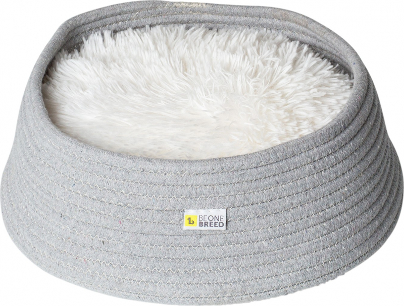 Be One Breed - Cama cinzenta confortável para gatos