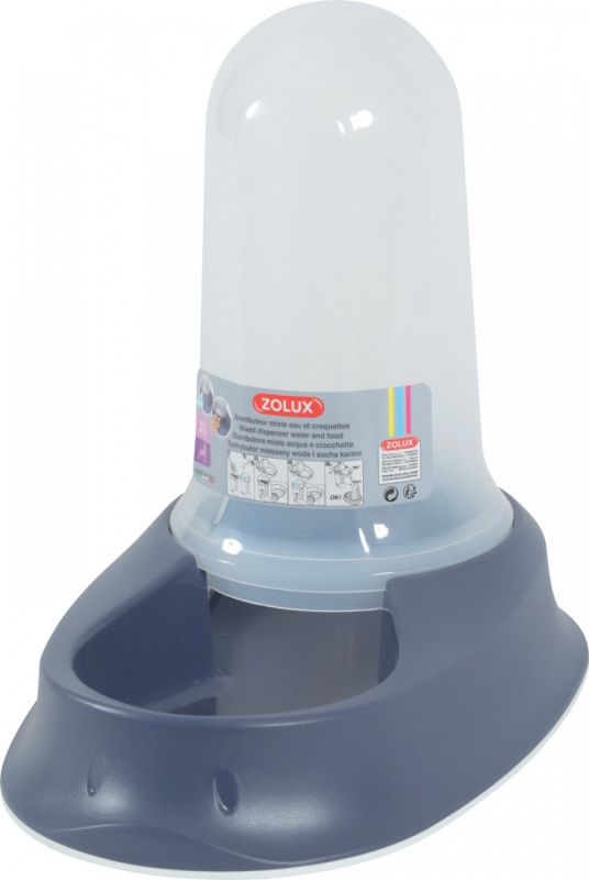 Distributeur mixte smart bowl - Bleu mer - plusieurs contenances