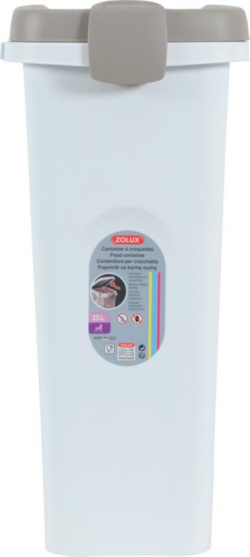 Container plastique hermétique pour croquettes - 15L, 25L et 40L