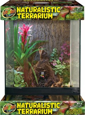 Terrario in vetro
