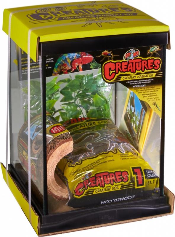Kit créature 22 cm pour araignées, insectes