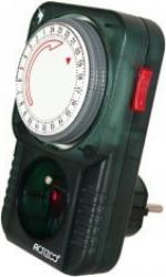 Enchufe eléctrico para acuario temporizado.  Temporizador electromecánico.