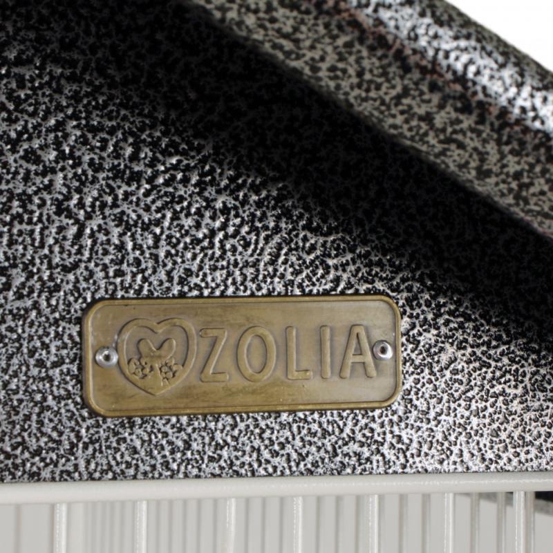 Volière Zolia Bamboo pour petits oiseaux - 160cm / Intérieur 128cm