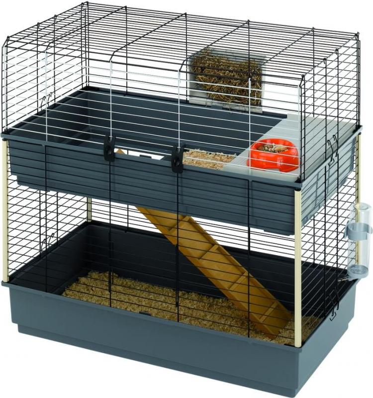 Jaula para roedores RABBIT 100 cm DOBLE