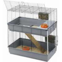 Kooi Ferplast Rabbit 100 Double voor konijnen en cavia's