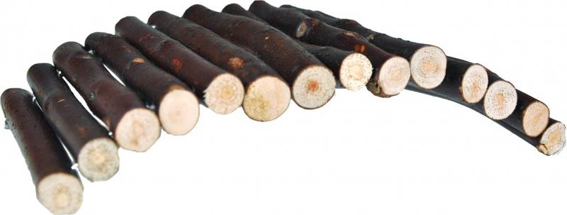 Jouet pour rongeurs Pont en bois naturel