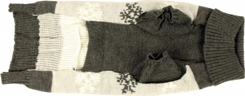Pull pour chiens Zolia Festive Flocons d'hiver