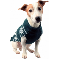 Jersey Jacquard Renos Zolia Festive para perro. Varios tamaños diferentes
