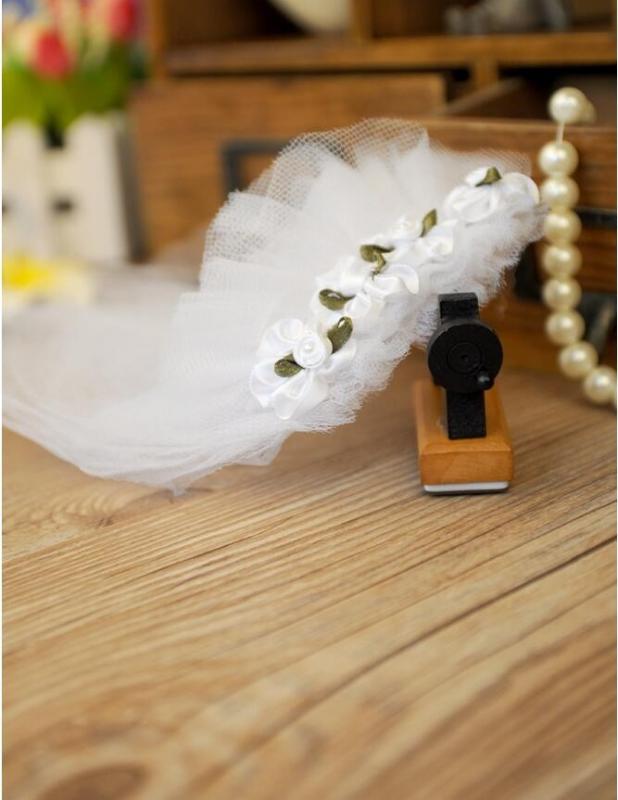 Voile de mariée pour Chien Zolia Festive