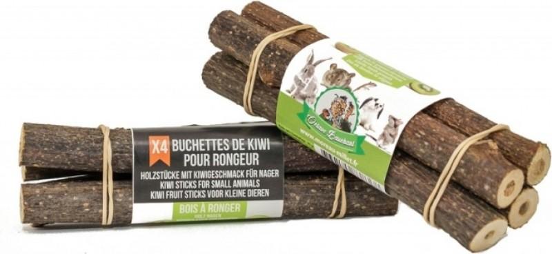 Bûchettes de bois à ronger - Kiwi