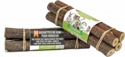 Tronquitos de madera para roer - Kiwi
