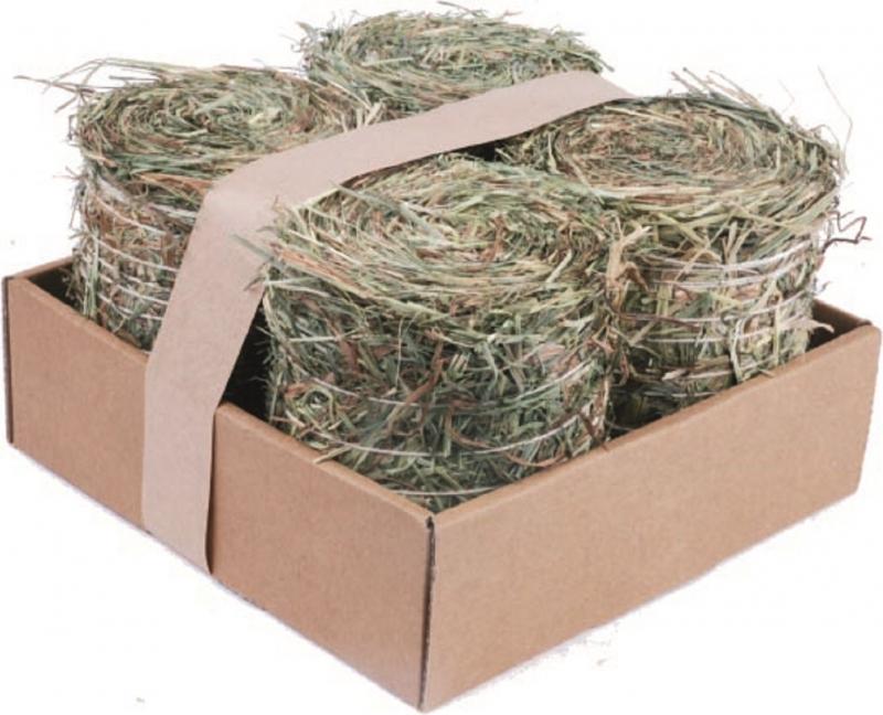 Pack de 4 meules de foin nature